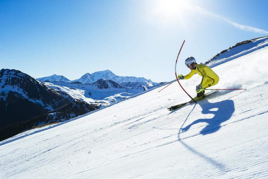 Le plus grand slalom du monde à La Plagne