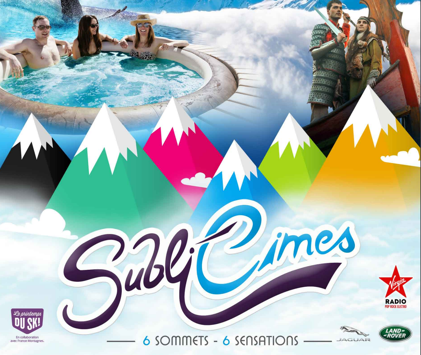 Animations SubliCimes pour le ski d'Avril à La Plagne